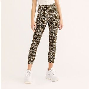 We the free Leopard pants